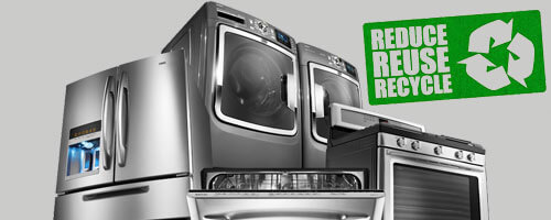 Recycle appliances with us