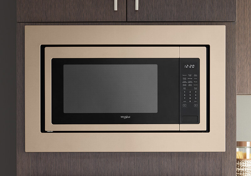 Sunset Bronze Built-in Microwave